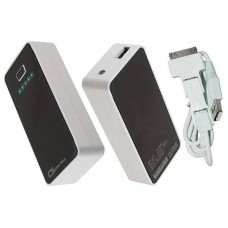Power bank Blanc noir 4400mAh Li-ion