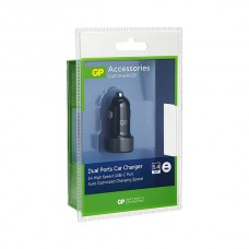 GP CC51 CAR CHARGER USB A: 2.4A + USB C: 3A