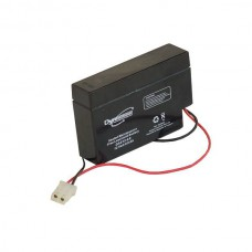 AGM BATTERY 12V 0.8AH/C20 + CABLE AND BULLET CONNECTOR