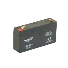 AGM BATTERY 6V 1.3AH/C20 1,02AH/C5 T1
