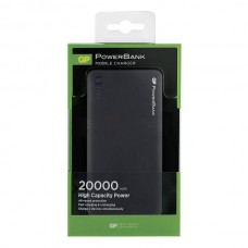 GP POWERBANK LI-ION 3C20A 20.000MAH ZWART